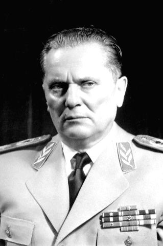 Josip Broz Tito in his uniform.
