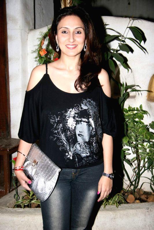 Juhi Babbar Showcase her New Collection at Cypress in Khar.