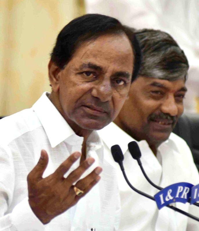 K Chandrasekhar Rao. (File Photo: IANS) - K Chandrasekhar Rao
