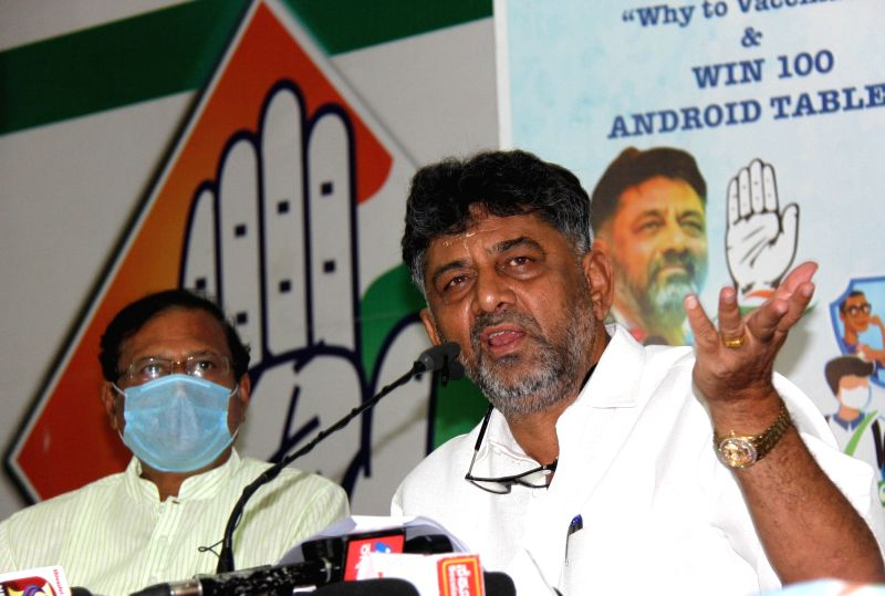 K'taka Cong launches video contest for children to promote vaccination, BJP terms it duplicity