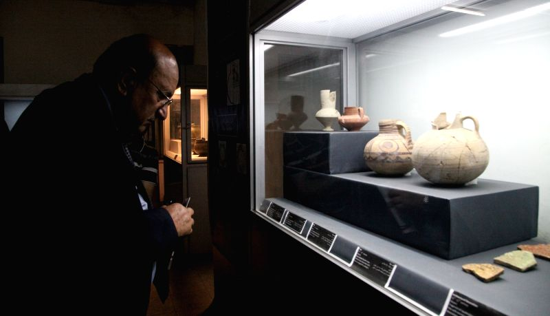 "KABUL, May 23 A man visits National Museum in Kabul, capital of Afghanistan, May 22, 2017. ""The situation of the National Museum improved markedly compared to the past as it has been ..."