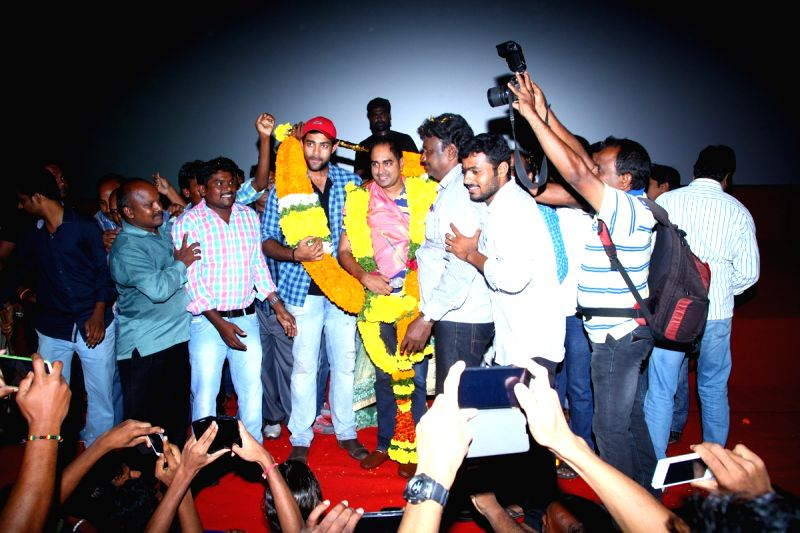 Kanche Movie team success tour.