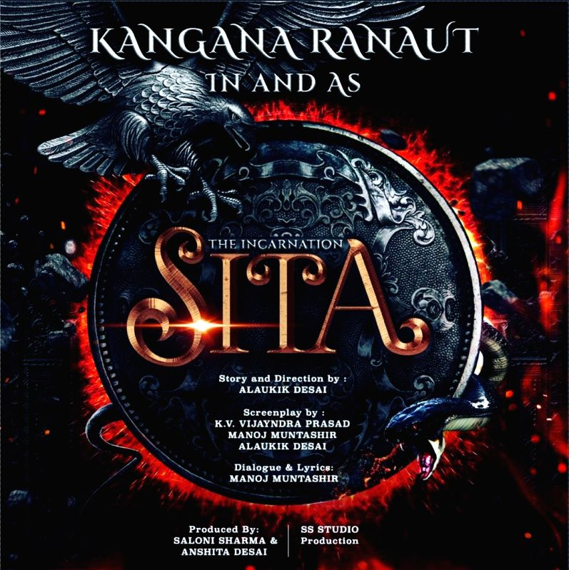 Kangana Ranaut's 'SITA The Incarnation' Poster.(photo:instagram)