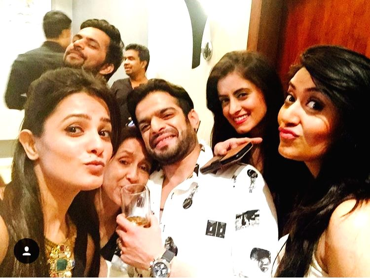 Karan Patel's birthday images