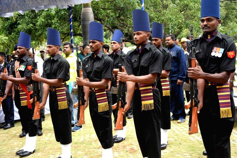 Kargil Vijay Diwas celebrations underway at National Military Memorial Park, in Bengaluru on July 26, 2018.