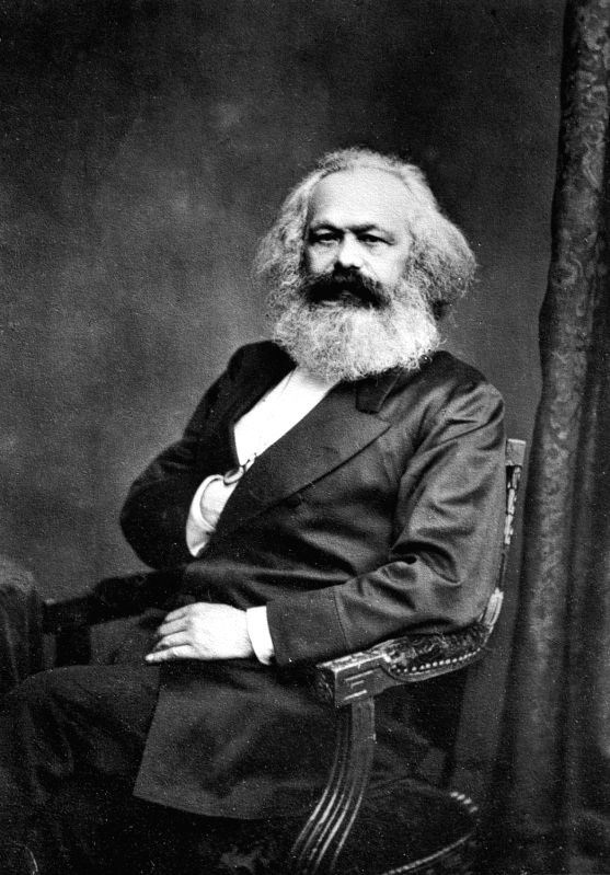 Karl Marx, whose entire philosophical outlook stemmed from one short sentence