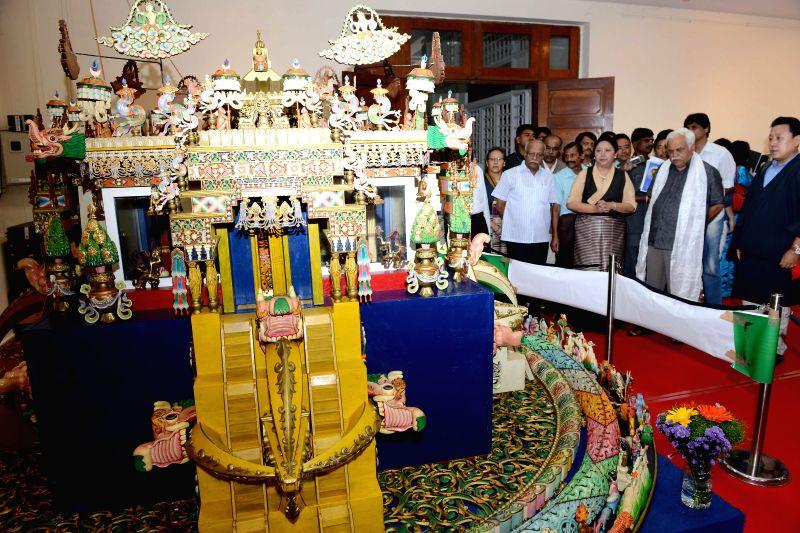 Karnataka Higher Education Minister R.V. Deshpande during inauguration of `Tibet Festival 2014` at Chitrakala Parishath in Bangalore on July 6, 2014. - R.