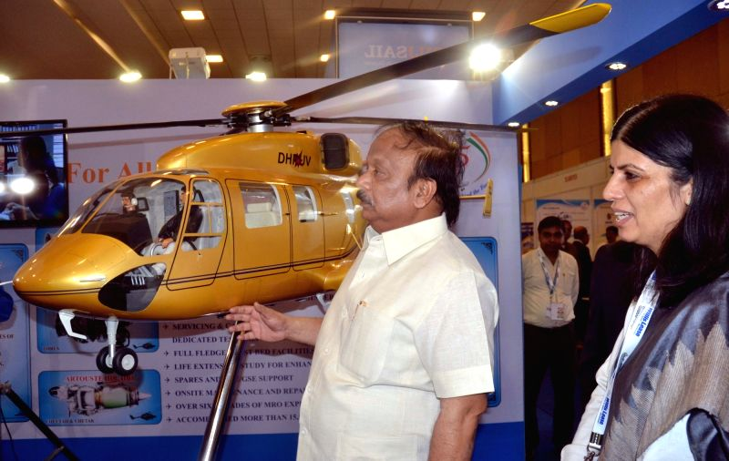 Karnataka Minister for Infrastructure development Roshan Baig during inauguration of India MRO Aerospace and Defense Expo India's only Maintenance, Repair and Overhaul expo in Bengaluru, ...