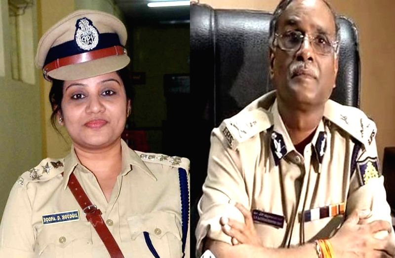 Being targeted for exposing irregularities at Parappana Jail: DIG Prisons Roopa