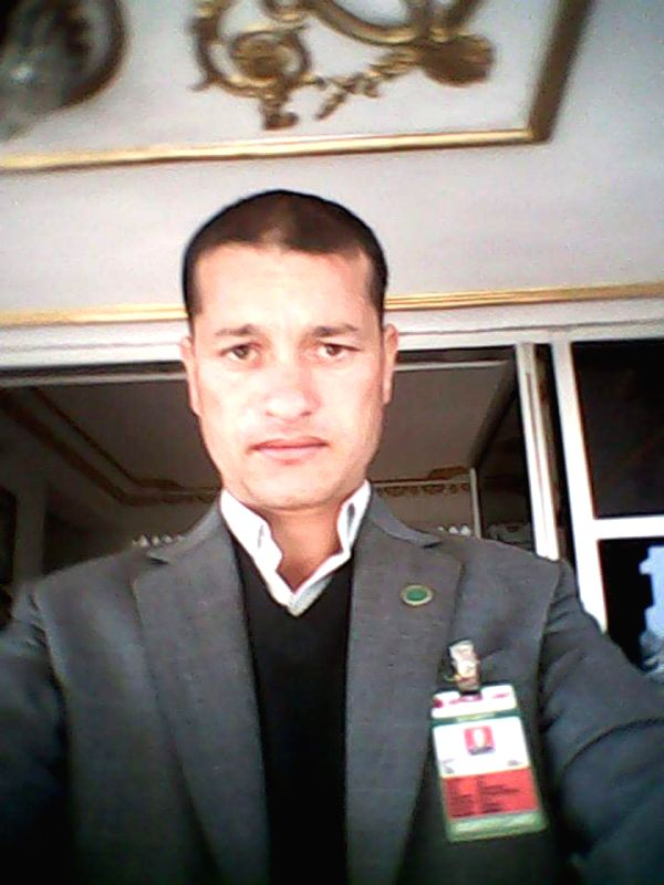 The file photo shows Basanta Titara, Warrant Officer second class of Nepal Army, who died along with six other U.S. marines in a crash of U.S. Marine Corps' UH-1Y ...