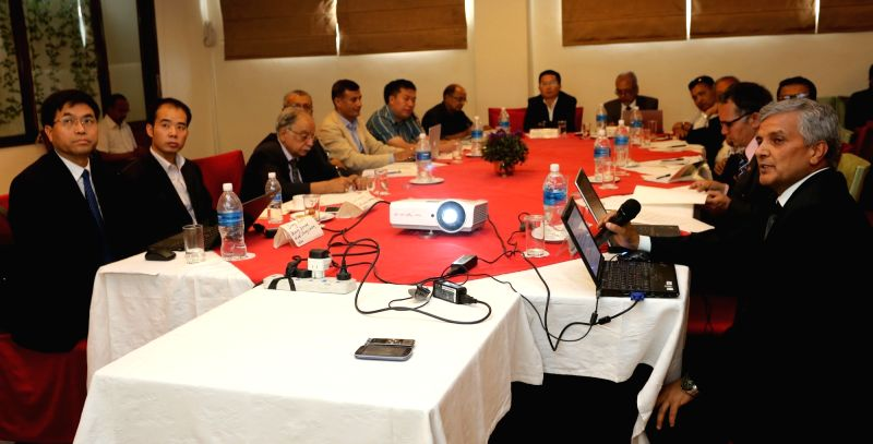 "KATHMANDU, May 23, 2016 - Experts participate in a seminar entitled ""Community of Common Destiny under Belt and Road Initiative in South Asia"" organized by Xinhua News Agency Kathmandu ..."