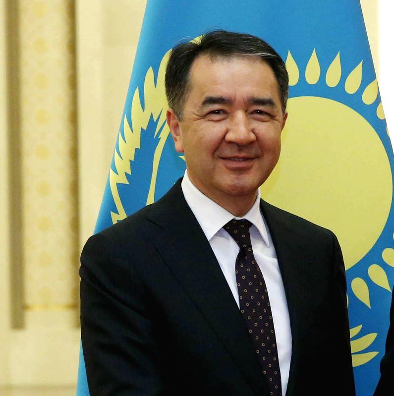 Kazakhstan Prime Minister Bakytzhan Sagintayev. (File Photo: IANS) - Bakytzhan Sagintayev