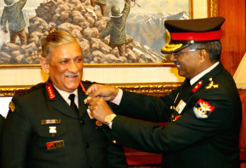 Armed Forces Flag Day - General Bipin Rawat, M.H. Rizvi