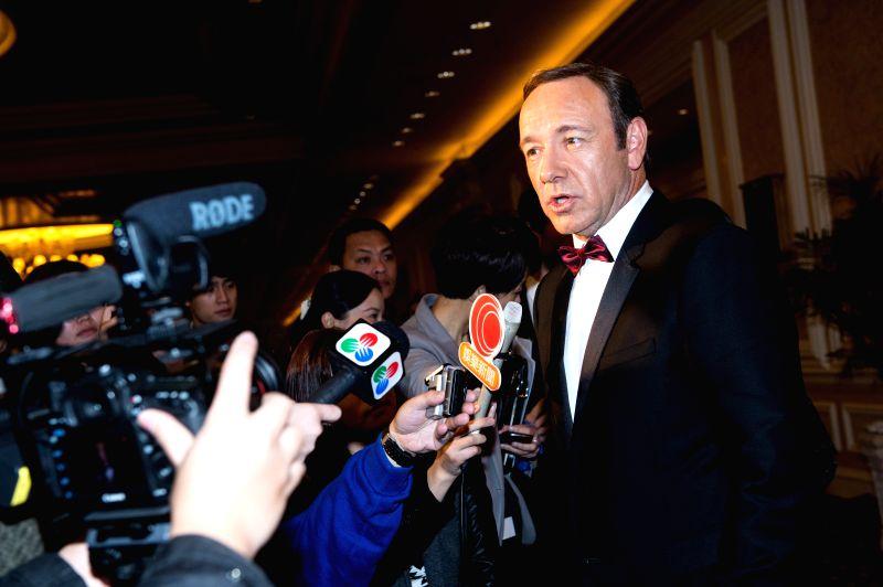 Kevin Spacey.(Photo: Xinhua/Cheong Kam Ka/IANS)