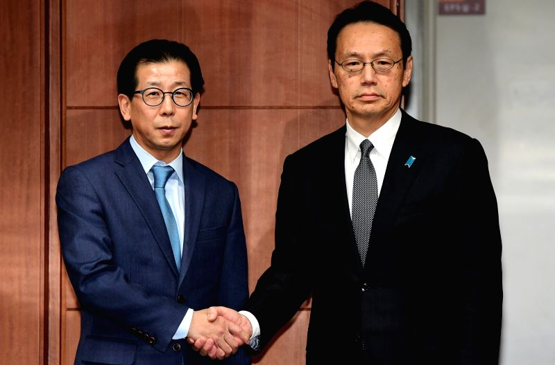 Director general officals of S. Korea Japan meet