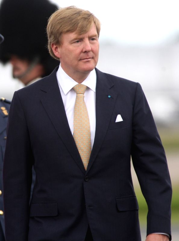 King of the Netherlands Willem-Alexander. (File Photo: IANS)