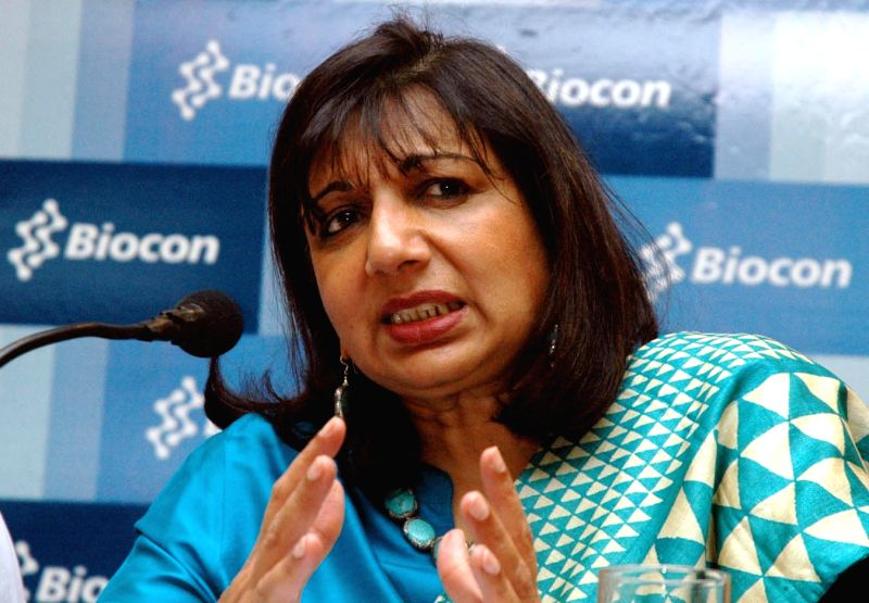 Kiran Mazumdar Shaw. (File Photo: IANS)