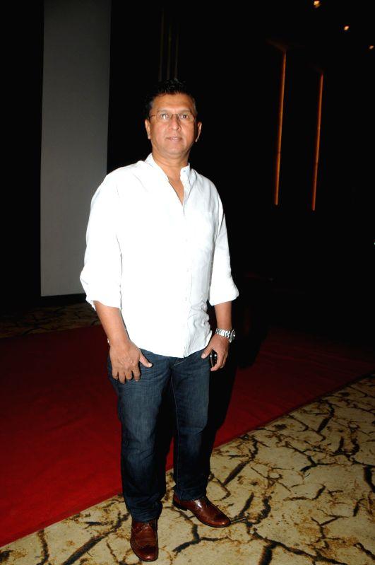 "Kiran More during the launch of sufi album ""Sound Of Sufi"" at Hotel Sahara Star in Mumbai on June 18th, 2014"