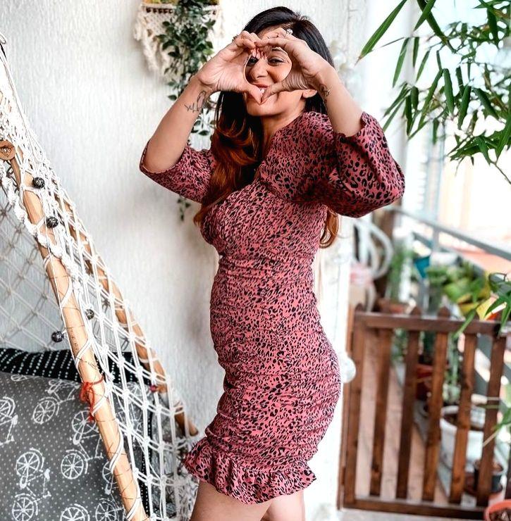 Kishwer Merchantt shares baby shower photo