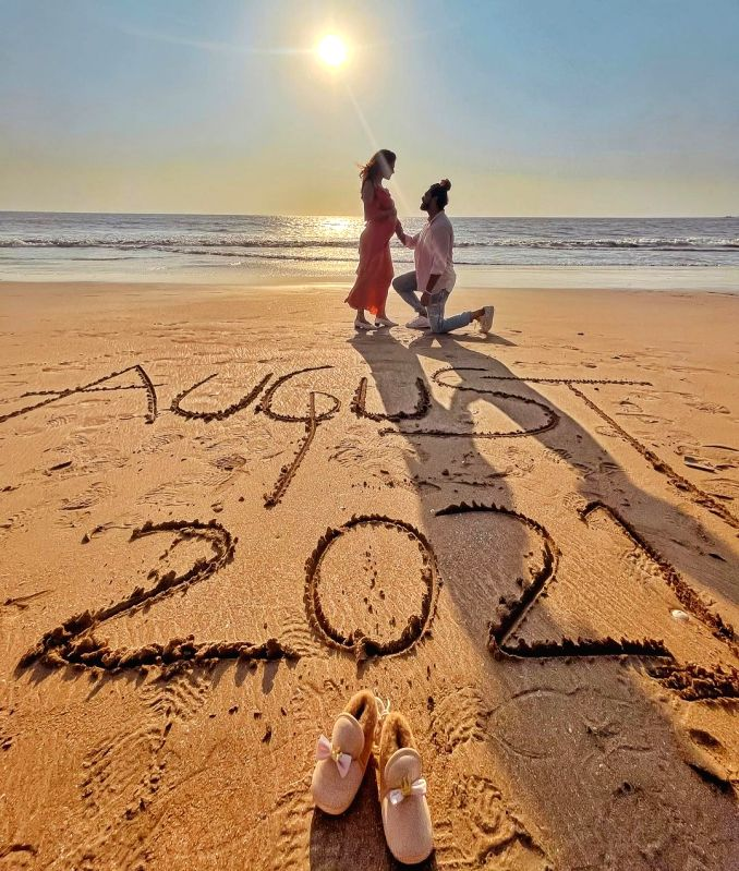 Kishwer Merchantt, Suyyash Rai expecting first child in August.(photo:Instagram)