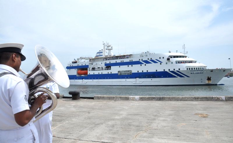 About 475 evacuees from the war-torn Yemen reached safely in passenger ships Kavaratti and Corals at the BTP berth of the Cochin Port in Kochi on April 18, 2015. The returnees included 337 ...