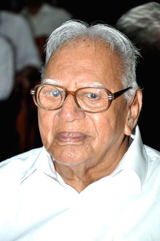 Eminent jurist Justice V R Krishna Iyer passes away at the age of 100, at a Kochi hospital on Dec 4, 2014. (File Photo: IANS)