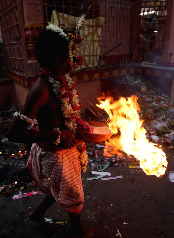 Kolkata A devotee during  Shiva Gajan Festival in Kolkata, on April 13, 2015.