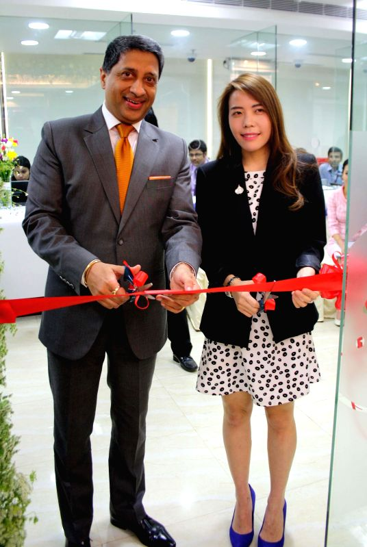 Acting Consul-General, The Royal Thai Consulate-General, Pattira Chiempricha during the inauguration of the VFS Global Centre in Kolkata on March 17, 2015.