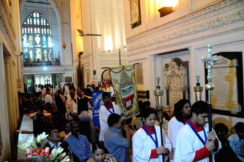 Bicentennial celebrations of St Paul's Cathedral underway in Kolkata on Dec 14, 2014.
