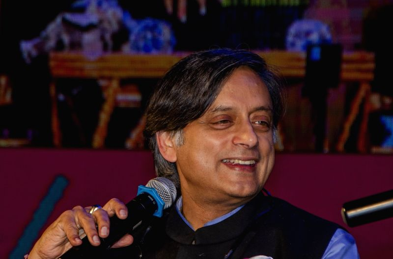 Congress leader and author Shashi Tharoor