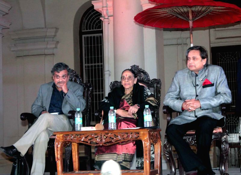 Congress MP from Thiruvananthapuram Shashi Tharoor during a programme at the Indian Museum in Kolkata, on Jan 14, 2015.