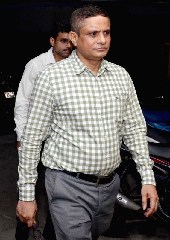 Kolkata: Former Kolkata Police Commissioner Rajeev Kumar comes out of Central Bureau of Investigation (CBI) office after being interrogated in connection with Saradha chit fund case at CGO Complex in Kolkata on Aug 16, 2019.