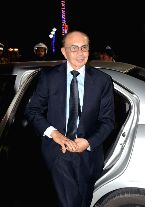 Godrej Group Chairman Adi Godrej arrives at the inauguration of Bengal Global Business Summit 2015 in Kolkata on Jan 6, 2015.