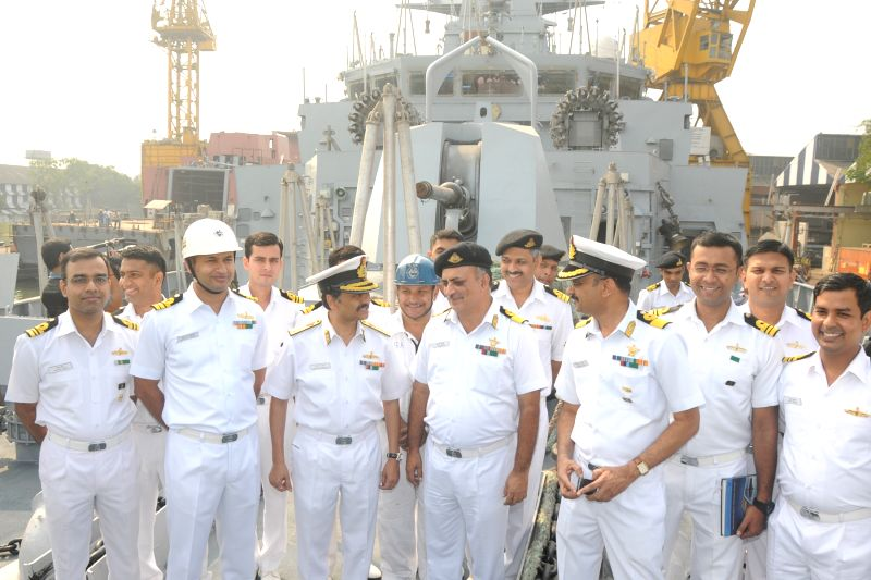 Kolkata: Kadmatt, the second of the four indigenously-built stealth anti-submarine warfare (ASW) corvettes being built by the Garden Reach Shipbuilders and Engineers (GRSE), being formally ...
