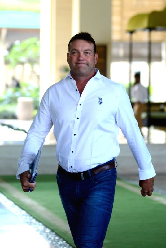 Kolkata Knight Riders (KKR) Head coach Jacques Kallis arrives to attend Indian Premier League (IPL) Players' Auction in Bengaluru on Jan 28, 2018.