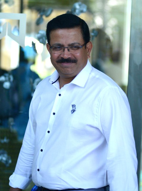Kolkata Knight Riders Managing Director Venky Mysore arrives to attend Indian Premier League (IPL) Players' Auction in Bengaluru on Jan 28, 2018.