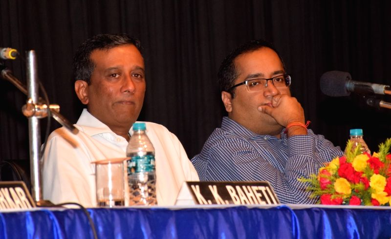 :Kolkata: Mcleod Russel (India) Ltd.Vice-Chairman and Managing Director Aditya Khaitan and Director Amritanshu Khaitan at the company's 18th Annual General Meeting (AGM) meeting, in Kolkata on ...