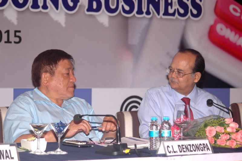 Principal Chief Commissioner for West Bengal and Sikkim C L Denzongpa during a panel discussion and interactive session on `Current income tax laws and Vis-a-Vis ease of doing business`, in ...
