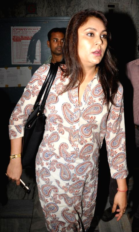 Kolkata: Riniki Bhuyan Sarma, the wife of former Assam health minister Himanta Biswa Sarma arrives to appear before ED (Enforcement Directorate) in connection with the multi-crore-rupee Sardha chit fund scam in Kolkata on Feb 17, 2015. (Photo: Kuntal