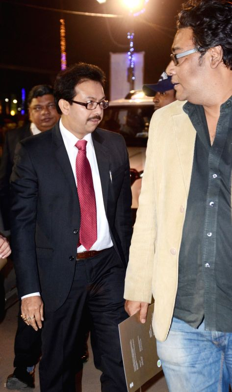 Techno India Group Managing Director  Satyam Roychowdhury at the inauguration of Bengal Global Business Summit 2015 in Kolkata on Jan 6, 2015.