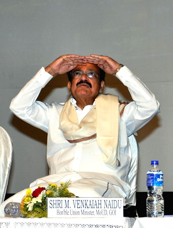 The Union Minister for Urban Development, Housing and Urban Poverty Alleviation and Parliamentary Affairs, M. Venkaiah Naidu during a Consultative Workshop on Urban Governance in Kolkata on . - M. Venkaiah Naidu