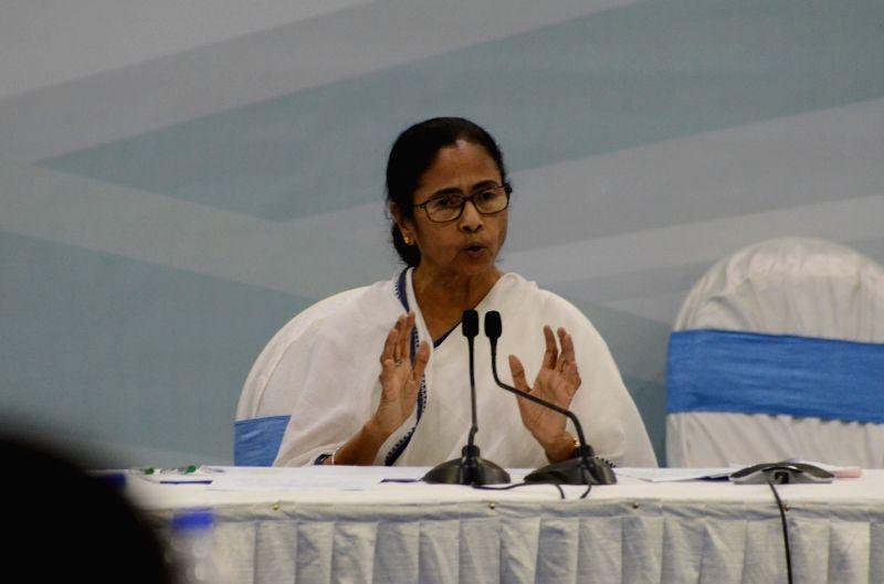 Kolkata: West Bengal Chief Minister Mamata Banerjee (Photo: IANS)