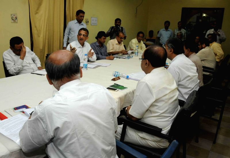 West Bengal Election commissioner Susanta Ranjan Upadhyay during an all party meeting ahead of forthcoming civic polls in Kolkata, on March 15, 2015. - Susanta Ranjan Upadhyay