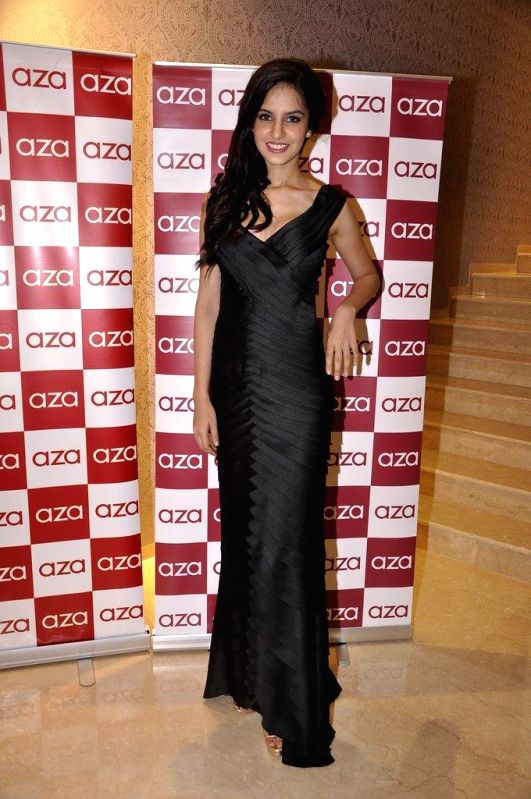 Koyal Rana during the launch of Aza store in Mumbai, on Aug 28, 2014.