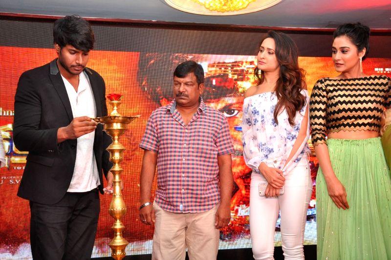 Krihsna Vamsi directed Nakshatram movie teaser launch held at Taj Banjra Hotel, Banjara Hills, Hyderabad in May 7, 2017
