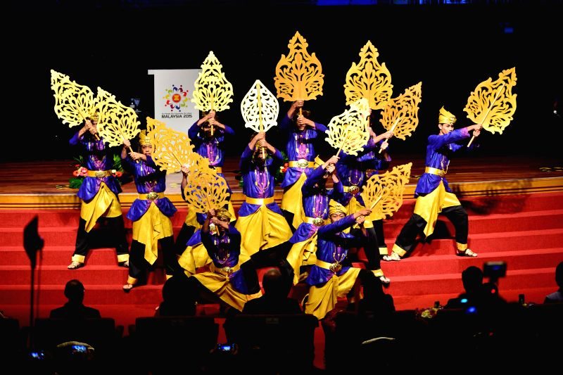 Artists perform at the opening ceremony of the 26th Association of Southeast Asian Nations (ASEAN) summit in Kuala Lumpur, Malaysia, April 27, 2015. Malaysian ... - Najib Razak