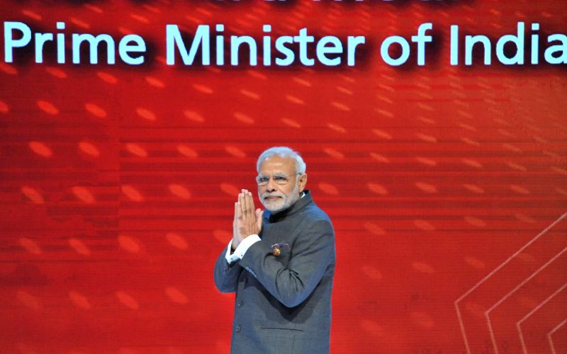 Kuala Lumpur: Prime Minister Narendra Modi at the ASEAN Business and Investment Summit 2015, at Kuala Lumpur, in Malaysia on November 21, 2015. - Narendra Modi
