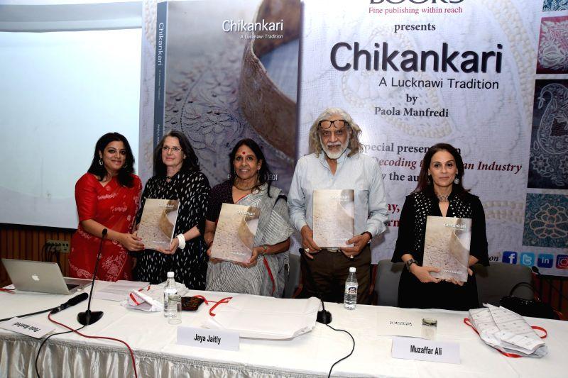 L-R- Trisha De Niyogi, Paola Manfredi, Jaya Jaitly, Muzaffar Ali and Meera Ali