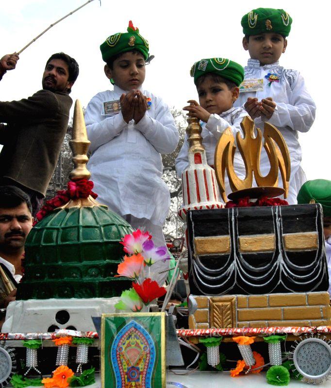 Milad-Ul-Nabi : celebrating the birth of prophet Muhammad