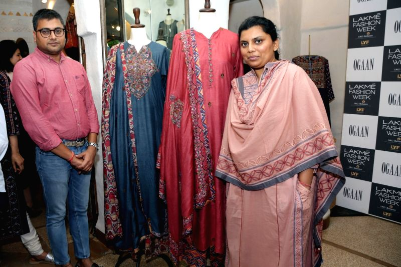 Lakme Fashion Week launches Sustainable Fashion and Indian Textiles initiative for Winter/Festive 2016 season with India's leading business of fashion destination in New Delhi on Aug 9, ...